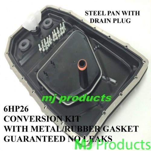 zf 6hp26 steel pan conversion kit with steel gasket
