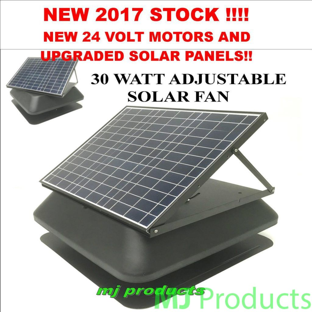 Solar Roof Vent Products Solar Fan Intelli Solar Powered