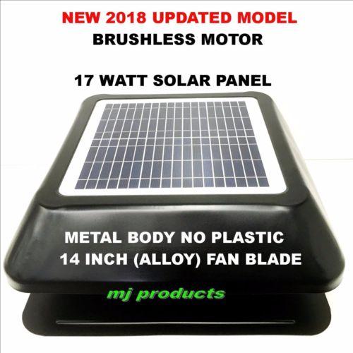 Solar Roof Vent 17 Watt Solar Panel Solar Extractor