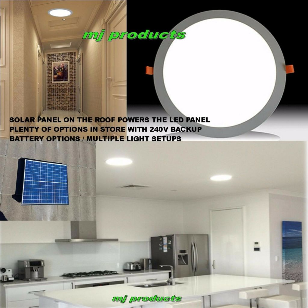 Solar Skylight 15 Watt Led Square 300 Mm Patios Alfresco Kitchens Walk In Robes Mj Products